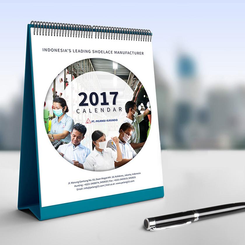Pelangi Elasindo 2017 Calendar